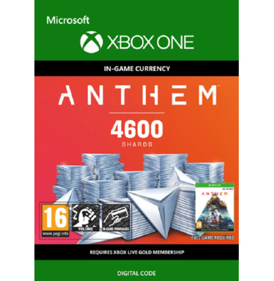 Anthem: 4600 Shards (Xbox One)