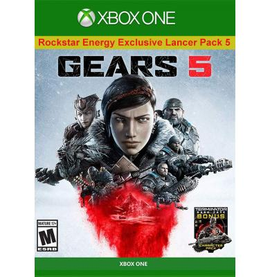 GEARS 5 - Rockstar Energy Exclusive Lancer Pack 5 (DLC) (Xbox One)