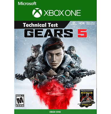 GEARS 5 Technical Test (Xbox One)