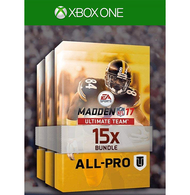 Madden NFL 17 - 15 All Pro Pack Bundle (DLC) (Xbox One)
