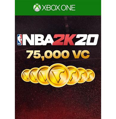 NBA 2K20: 75.000 VC (Xbox One)