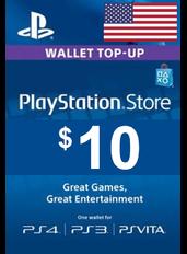 PlayStation Gift Card - $10 (USD)   Statele Unite ale Americii - SUA