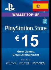 Tarjeta Regalo PlayStation - 15€ (EUR) | España