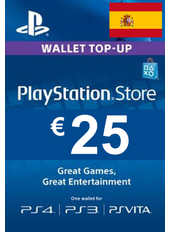 Tarjeta Regalo PlayStation - 25€ (EUR) | España