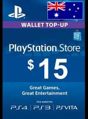 $15 (AUD) - PlayStation Gift Card | Australia