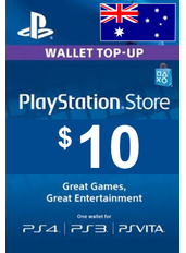 $10 (AUD) - PlayStation Gift Card | Australia