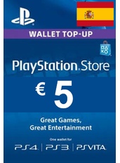Tarjeta Regalo PlayStation - 5€ (EUR) | Alemania