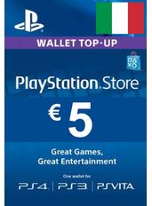 Carta Regalo PlayStation - 5€ (EUR) | Italia