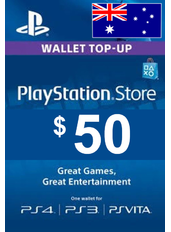 $50 (AUD) - PlayStation Gift Card | Australia