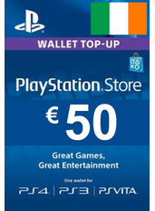 50€ (EUR) - PlayStation Gift Card | Ireland
