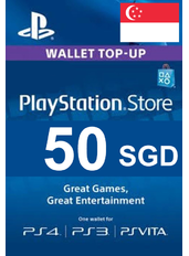 PlayStation Gift Card - 50 (SGD)   Singapore