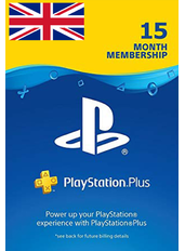 PS Plus 15 Month (UK - United Kingdom)
