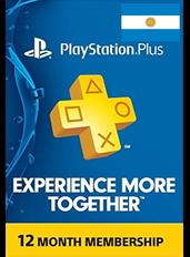 PlayStation Plus 12 Meses (Argentina)