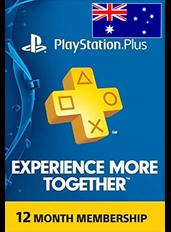 PS Plus 12 Month (Australia)
