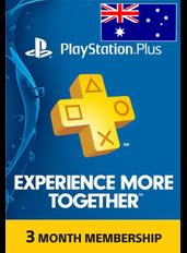 PS Plus 3 Months (Australia)