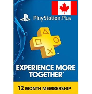 PS Plus 12 Month (Canada)