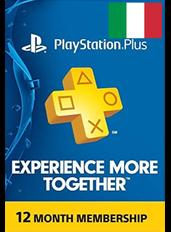 Abbonamento PlayStation Plus 12 Mesi (Italia)