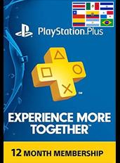 PlayStation Plus 12 Meses (LATAM)