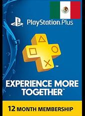PlayStation Plus 12 Meses (México)