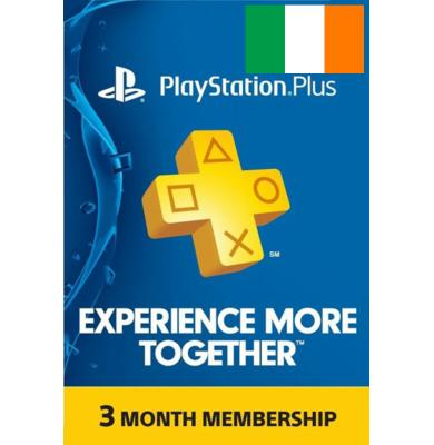 PS Plus 3 Months (Ireland)