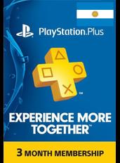 PlayStation Plus 3 Meses (Argentina)