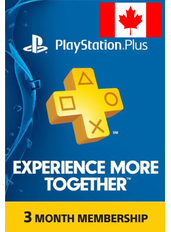 PS Plus 3 Months (Canada)