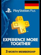 PS Plus 3 Monate (Deutschland)