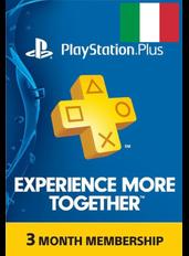 Abbonamento PlayStation Plus 3 Mesi (Italia)