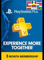 PlayStation Plus 3 Meses (LATAM)