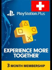 PS Plus 3 Monate (Schweiz)