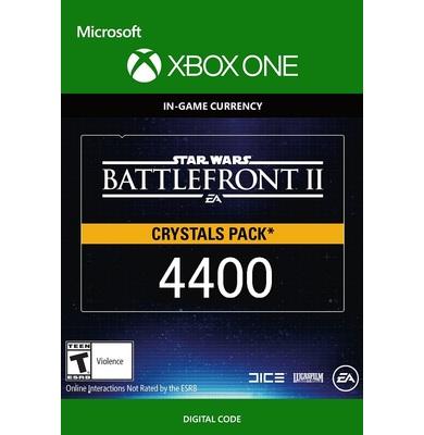 Star Wars Battlefront 2: 4400 Crystals (Xbox One)