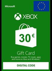 Xbox Gift Card 30€ (EUR) | Europa