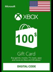 Xbox Guthabenkarte $100 (USD) | USA
