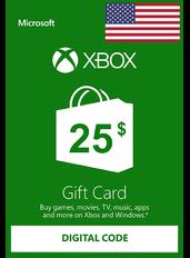 Xbox Guthabenkarte $25 (USD) | USA