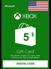 Xbox Guthabenkarte $5 (USD) | USA