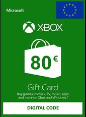 Xbox Gift Card 80€ (EUR) | Europa