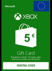 Xbox Gift Card 5€ (EUR) | Europa