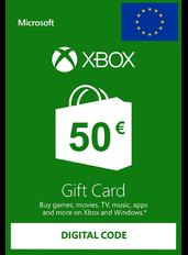 Xbox Gift Card 50€ (EUR) | Europa