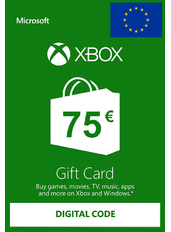 Xbox Gift Card 75€ (EUR) | Europa