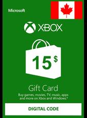 Xbox Guthabenkarte $15 (CAD) | Kanada