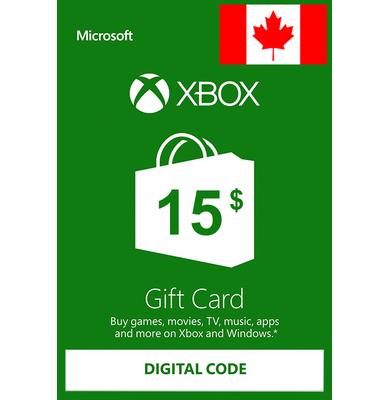 Xbox Gift Card $15 (CAD) | Canada