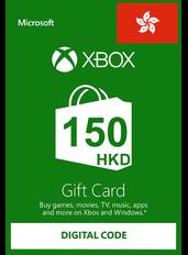 Xbox Cartao Presente HK$150 (HKD) | Hong Kong