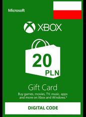 Xbox Guthabenkarte 20 zł (PLN)   Polen