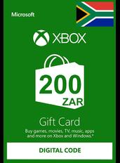 Xbox Cartao Presente R200 (ZAR) | África do Sul