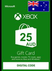 Xbox Guthabenkarte $25 (AUD) | Australien