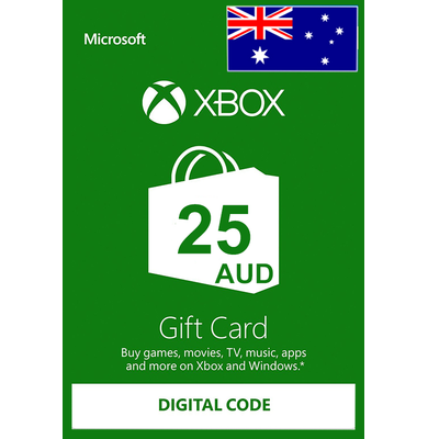 Xbox Gift Card $25 (AUD)   Australia
