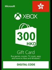 Xbox Cartao Presente HK$300 (HKD) | Hong Kong