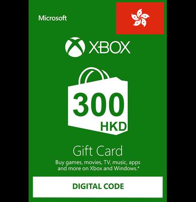 Xbox Guthabenkarte HK$300 (HKD)   HongKong