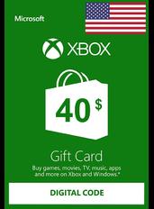 Xbox Guthabenkarte $40 (USD)   USA