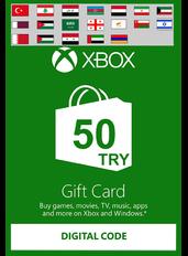 Xbox Guthabenkarte 50 TL (TRY) | Türkei